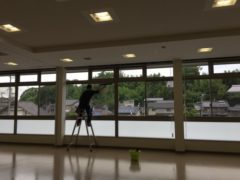 ガラス・床洗浄清掃とjam9